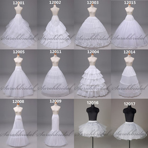 En stock Disponible en stock Robe de bal à balles de jupon longue courte courte courte robe de bal de bride de mariée Crinoline sous-vêtements pour accessoires de mariage