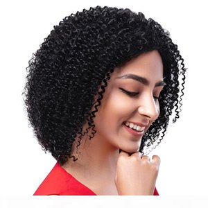 Lace Front Human Hair Wigs For Women Kinky Curly Wig Mongolian Virgin Hair Full Lace Wigs with Baby Hair