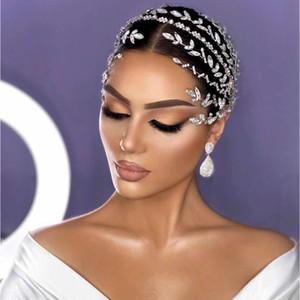 Einzigartige Kristall Stirnband Hochzeit Haarschmuck Braut Hochzeit Krone, Prinzessin Geburtstag Tiaras, Parade Prom Zubehör
