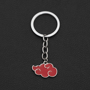 Animation Naruto surrounding Xiao organization red cloud clothing key chain versatile student accessories