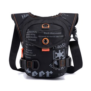 New Style Outdoor Cycling Leg Bag Multi Functional Sports Men's Chest Bags Portable Waist Bag Messenger 2021