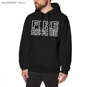 2020 novos homens dever de resgate bombeiro f & b moletom hip hoodie casual com capuz impresso completa regular polister cn