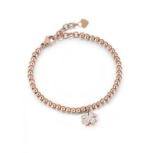 Charm Bracelets Runda 2021 Rose Gold Stone Bracelet For Women Stainless Steel Charms Fashion Jewellery