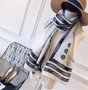 New brand women's wear 90-180cm long single layer chiffon silk shawl fashion travel soft designer luxury gift scarf printed scarf