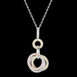 FAHMI 2020 Novo Popular 100% 925 Sterling Silver Necklace1-13 Alta Qualidade Jóias Originais para Mulheres Party Wedding Gift