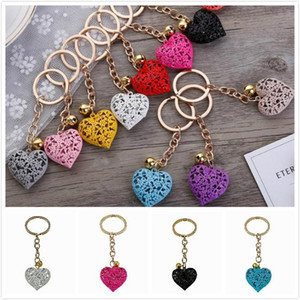 Multicolor Fashion Hollow Heart Keychains Cute Purse Bag Pendant Car Keyring Chain Ornaments Gift Key chains