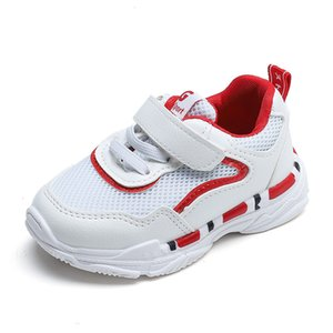 Spring Boys Girls Fashion Sneakers Baby Toddler Little Kids Leather Mesh Trainers Soft Children School Sport Running Shoes 21-30 Z1127