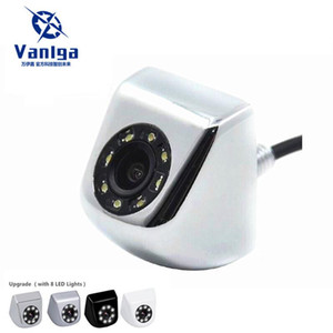 2020 New CCD Car Rear View Camera Real Waterproof ( IP67 ) Wide Angle 8 LED Lights Night Vision Parking Reversing Assistance