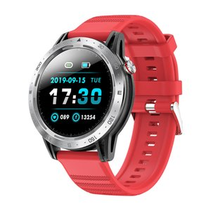 Vente chaude Smart Watch Smart Watch Sport Sport Montres Touch Screen Hanbelson