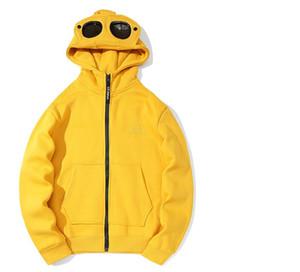 الدافئة الرجال سترة أفضل جودة أزياء جاكيتات cp عارضة الشارع الشهير مصمم سترة الرجال معطف