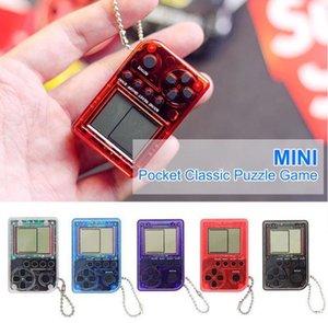Mini Klasik El Oyun Konsolu Çocuk Oyunları Makinesi Retro Nostaljik Oyun Makinesi Anahtarlık Oyuncaklar Console Çocuklar için