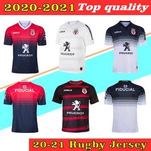 Toulouse Munster City Rugby Jerseys 2021 Zuhause 2020 Stade Touousain 2019 League Jersey Lentulus Hemden