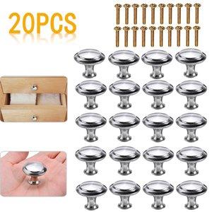 20Pcs Set Mushroom Cabinet Knob Set Replaceable Furniture Cabinet Drawer Cupboard Handles Pulls Kitchen Door Knob DIY Hardware