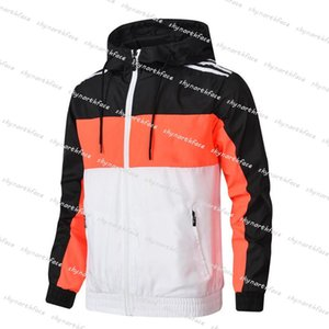 2020 Men S Designers Mens Winter Jackets Casacos Homens Windbreaker Casaco Fino Manga Longa Zíper Luxurys Jackets Correndo Sportswear