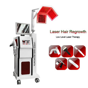 Medical LLLT laser hair regrowth 650nm fast hair growth machine Hair Care Therapy Anti-hair Loss treatment with analysis camera