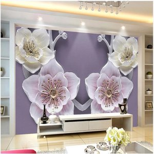 3d landscape wallpaper 3D relief flower wallpapers background wall sofa study background decorative painting mural