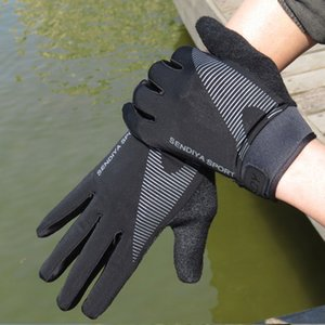Luxury-Cycling Breathable Gloves Full Finger Touch Screen Men and Women Thin Sports Equipment Outdoor Climbing Fitness Non-slip Fishing
