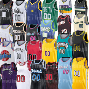 Jersey de basketball personnalisé Davis Anthony Luka Alex Doncic Kyle Caruso Kuzma Equality Coby See US Blanc Blanc CARIS BALL LEVERTY JERSEY STANDY