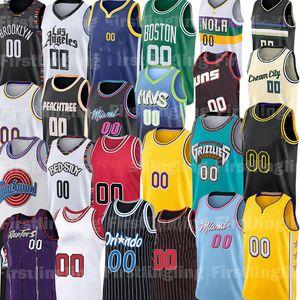Davis Custom Basketball Jersey Anthony Luka Alex Doncic Kyle Caruso Kuzma Igualdad Coby Vernos Veris Ball Ball Levert Jerseys de pie