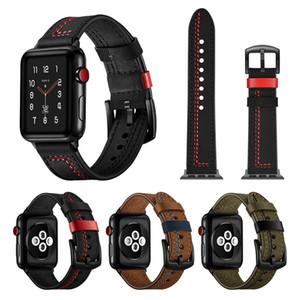 Akıllı Deri Askısı Apple Watch Serisi için 123456 38mm 40mm 42mm 44mm Erkekler ve Kadınlar Değiştirme Bilekliği