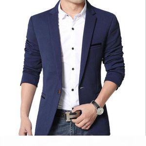 New Mens Blazer Spring Fashion Suits Men Top Quality Blazers Slim Fit Jacket Outwear Coat Costume Homme Blazer Men