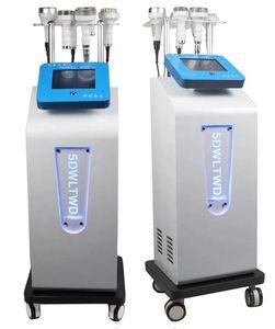 Многофункциональный подъемник для лица Ультразвуковая кавитация 5D резьба инструмента RF вакуумный корпус формирования похудения машины для похудения