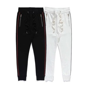21 spring and autumn new men's couple loose sports pants high-density embroidery five-pointed star logo
