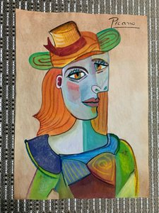 Pablo Picasso Home Decoration Handpainted Stampa HD Stampa pittura ad olio su tela Wall Art Pictures Canvas 201130