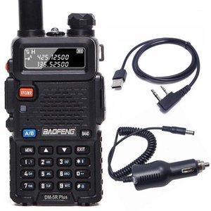 Baofeng DM-5R plus Slot à double horaire Tier1 Tier2 Numérique Walkie Talkie DMR Dual Band Radio + Programmation Téléphérique Chargeur1