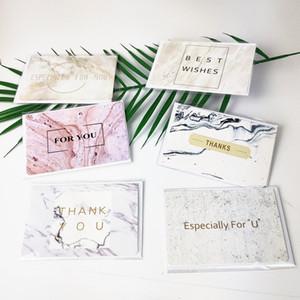 Fabrikspreis Sie für Marmorierte Bronzing Greeting Spezielle Hochzeit Geburtstagspapier Einladungskarte