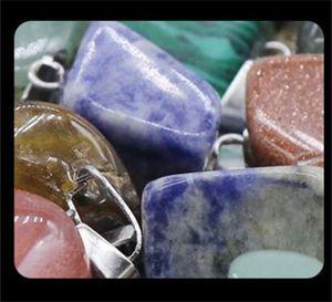 Collana irregolare Ciondolo naturale Cristalli di guarigione naturale Agata Agata Piccoli accessori Donne Pendenti Mens Donne Delicate 0 7ks M2
