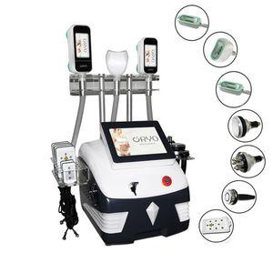 Cavitation ultrasonique Minceur Machine 7 en 1 Fournitures de remise en forme de perte de poids 3 poignées cryo 360 Cryolipolyse Aspirothérapie