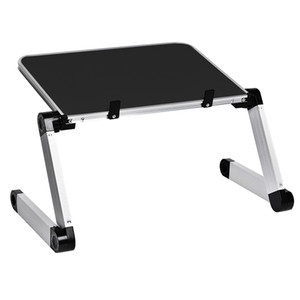 Alliage d'aluminium portable portable pliable pliable bureau ordinateur portable bureau table table porte-notes portable pc pc pliage table de bureau