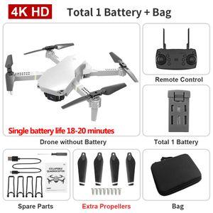 L702 4K Dual Camera FPV Mini Beginner Drone& Kid Toy, Track Flight, Adjustable Speed,Altitude Hold, Gesture Take Photo, 1800 Ma Battery, 3-3