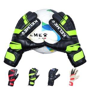 Kelme kalmei futbol çocuk giyimine dayanıklı yetişkin ilkokul öğrencileri koruyucu parmak kaleci eldivenleri ile C7EK
