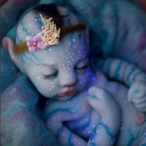 Simulação Bebê Reborn Avatar Boneca LWG5