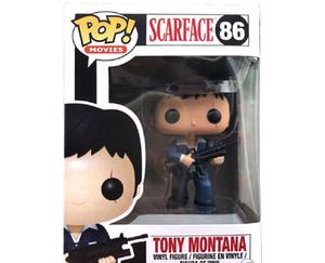 Yeni Funko Pop Scarface 86 # Tony Montana PVC Toplama Şekil Oyuncaklar Doğum Günü Hediyeleri Için
