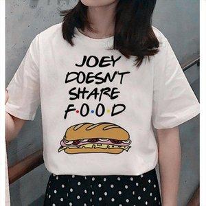 Friends TV show womens t shirt top femme ulzzang T shirt Harajuku graphic casual retro printing women