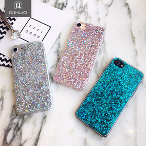 Silicone Bling Powder Soft Case For iPhone 12 Pro Max SE2020 7 6 8 Plus 5 S 12 Mini 11 Pro XS Max XR X Shiny Glitter Phone Cover