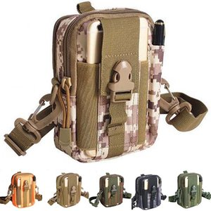 Multi-Purpose Poly Tool Holder EDC Pouch Camo Bag Military Nylon Utility Tactical Waist Pack Camping Hiking Travel Shoulder Bag