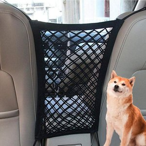 Pet Isolation Net Dog Seat Cover Car Protection Net Safety Storage Bag Dog Accessories Pet Carrier Car Seat Cover