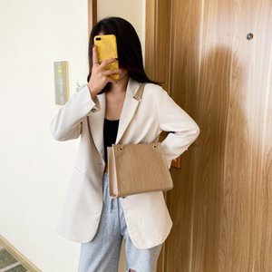 Ladies Fashion One-Shoulder Handbag All-Match Messenger Bag Fashion Trend Women Crocodile Pattern Crossbody Handbags Vintage