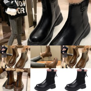 377 Top Women extravagant Boots Leather Luxurys Flat Soled Casual Shoes Short Black White Gold Pink Party Shoes Dress Couple With Box Chelse
