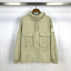 20ss heißen GHOST PIECE SMOCK / ANORAK Baumwolle Nylon TELA Pullover Jacke Männer Frauen Mäntel Mode Oberbekleidung Mantel