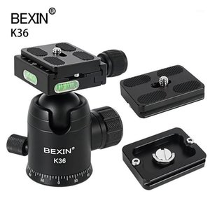 Tripod Heads DSLR Camera Mount Ball Head Adapter 360 ° Съемка ротации Съемка камеры Ballhead для штатива Mini1