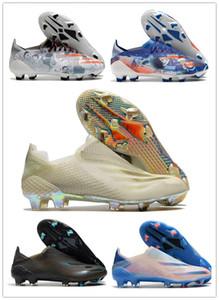 2020 Original Nouveau X Ghosted.1 FG Mens Femmes Garçons Ghosted .1 Chaussures de football de football de football de football de football Boots de football