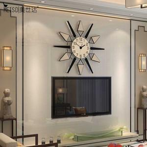 Meisd 2020 Calidad Relojes de pared acrílico MUTE RELOJ HOGAR PARED METAL Puntero Colgante Cuarzo Reloj de la sala de estar Horloge Envío gratis