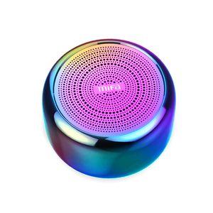 i8 Portable Bluetooth Speaker Built-inMicrophone Aluminium Alloy Body Mini Speaker Wireless Bluetooth 4.2 Mp3 Music Player