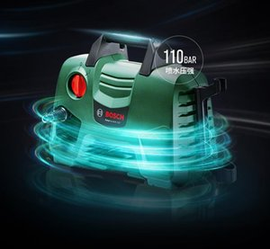 Bosch high pressure car washing machine cleaning machine sharp weapon household portable power water pump pool power tool EA110