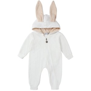 Baby Girl Fall Clothes 2020 Boy Romper Kids Outfits Brown Jumpsuit Boutique Clothing Rompers Unisex Solid Zipper